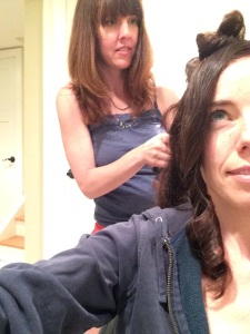 rachel knight curling my hair one last time